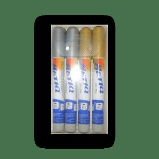 Caneta Easy Pen (2x6mm) Blister Com 4UND