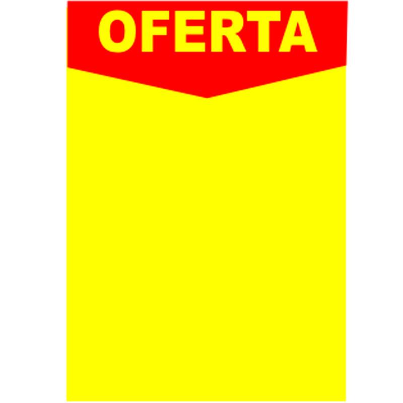 Cartaz Oferta Descartável A2 350g 2 Faces – 25UND