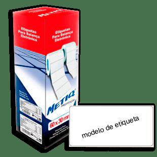 Etiquetas Térmicas P/ Balança Eletrônica Toledo Prix4/Filizola TP 80 CX 2.670UN (60x30mm)
