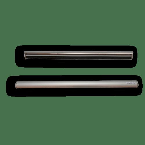 Porta Banner Snapframe Anodizado Prata – Largura 420mm