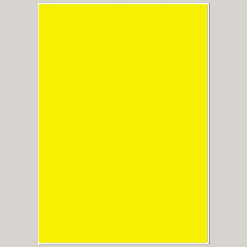01 Cartão Laminado Amarelo Liso 2 Faces A2 420mm X 594mm C/ilhós