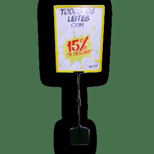 Expositor De Preço A3 (BMTT) – Amarelo