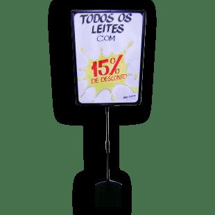 Expositor De Preço A3 (BMTT) – Preto