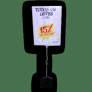 Expositor De Preço A3 (BMTT) – Transparente