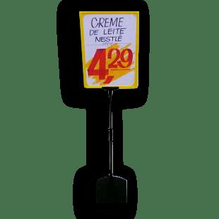 Expositor De Preço A4 (BMTT) – Amarelo