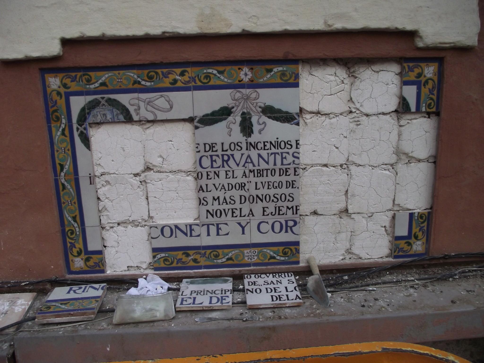05. LAS LÁPIDAS CERVANTINAS SALVADAS IN EXTREMIS.