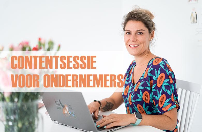 contentsessie voor ondernemers