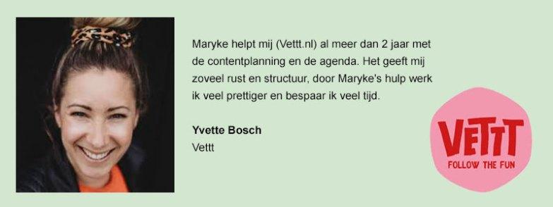 review Yvette Vettt
