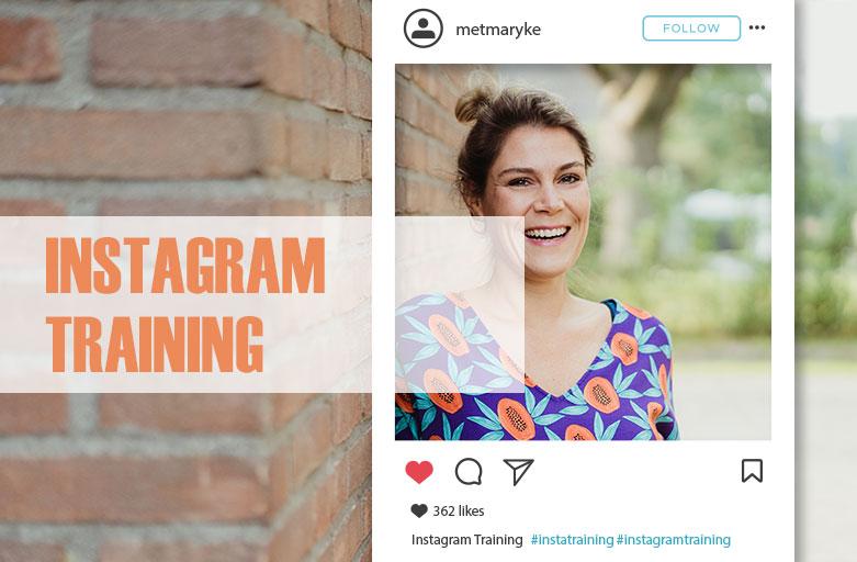 Instagram Training ondernemers Enschede