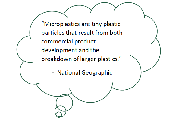 Microplastics definitions in relation to the green summit
