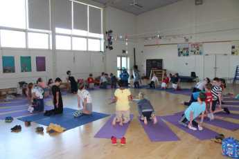 The PTA have sponsored Yoga
