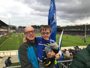 James the Mascot - Leinster Rugby!