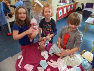 Junior infants b Baby Clinic