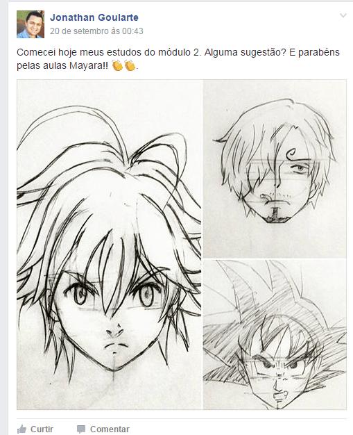 Curso de Desenho Como Desenhar Manga