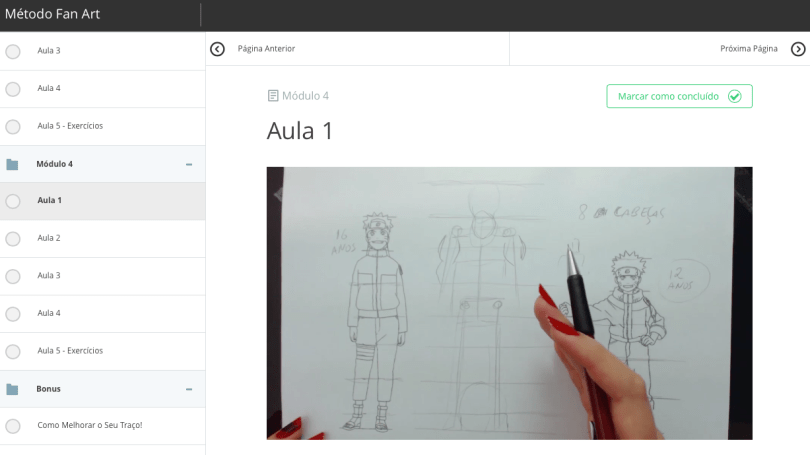 Screen Shot 2017 05 15 at 21.11.54 - Como aprender a desenhar Animes - FAN ART2.0