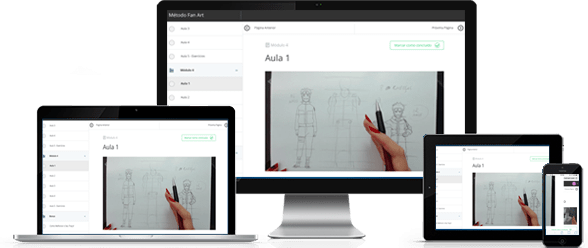 fanart display finalizado - Como aprender a desenhar Animes - FAN ART2.0
