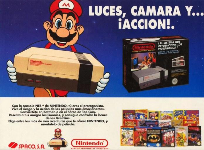 Y la NES llegó a España