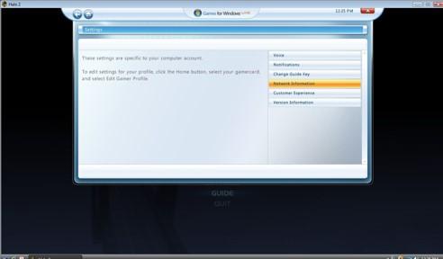 Diseño de Games for Windows live estrenado junto a Halo 2