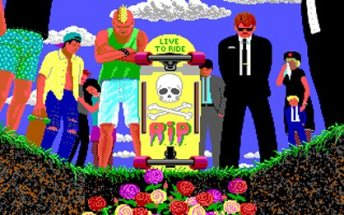 Esta icónica pantalla de California Games 2 era muy representativa del estado de la compañía.