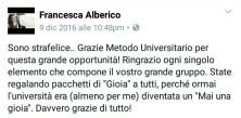 Francesca Alberico - Metodo Universitario: le 3 Video-Lezioni Gratuite