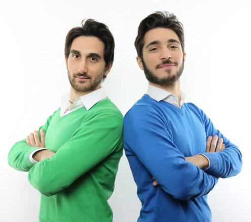 Andrea Acconcia e Giuseppe Moriello
