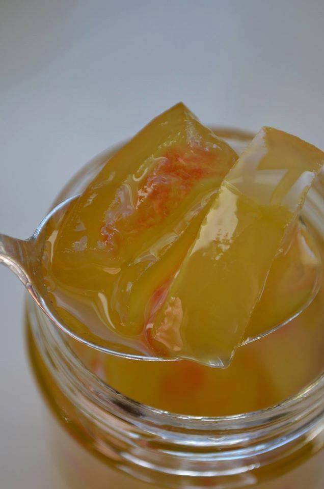 γλυκο κουταλιού καρπούζι - φλουδες