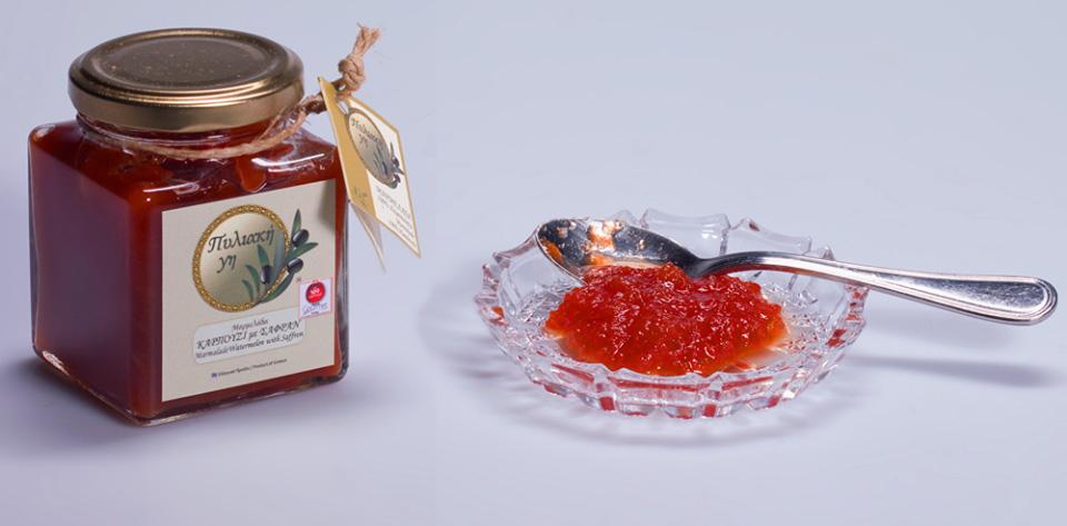μάπα το καρπούζι, αλλά η μαρμελάδα υπέροχη