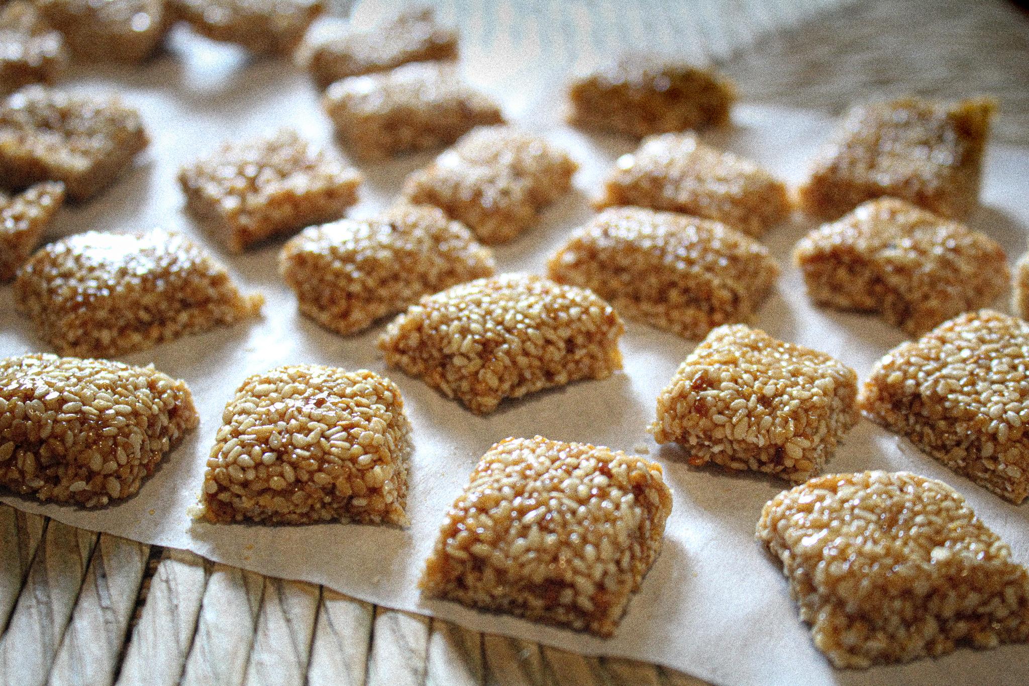 Παστέλι χωρίς ζάχαρη – μόνο με Μέλι και Σουσάμι