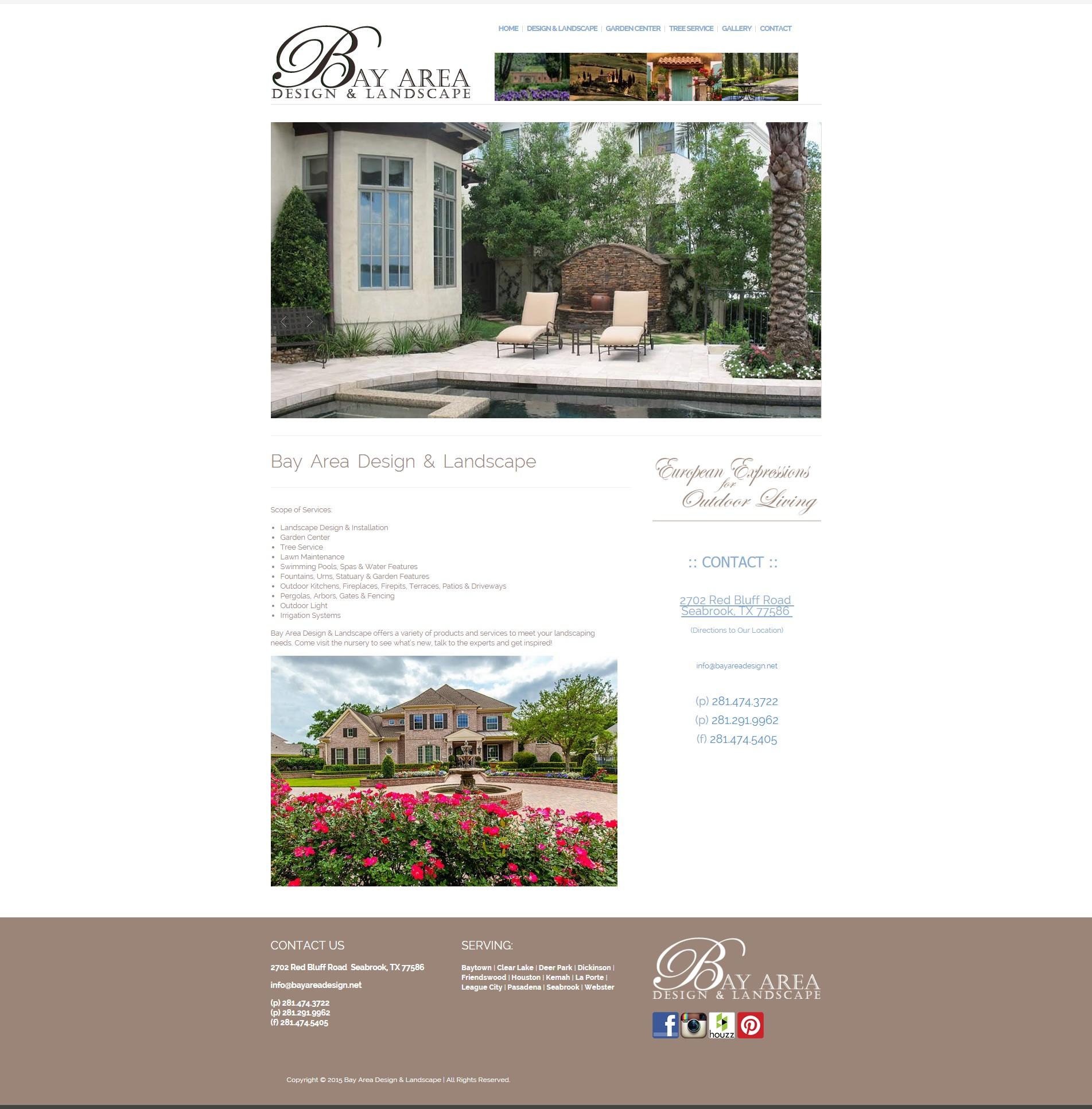 Bay area design and landscape seabrook beatiful landscape for Bay area landscape design