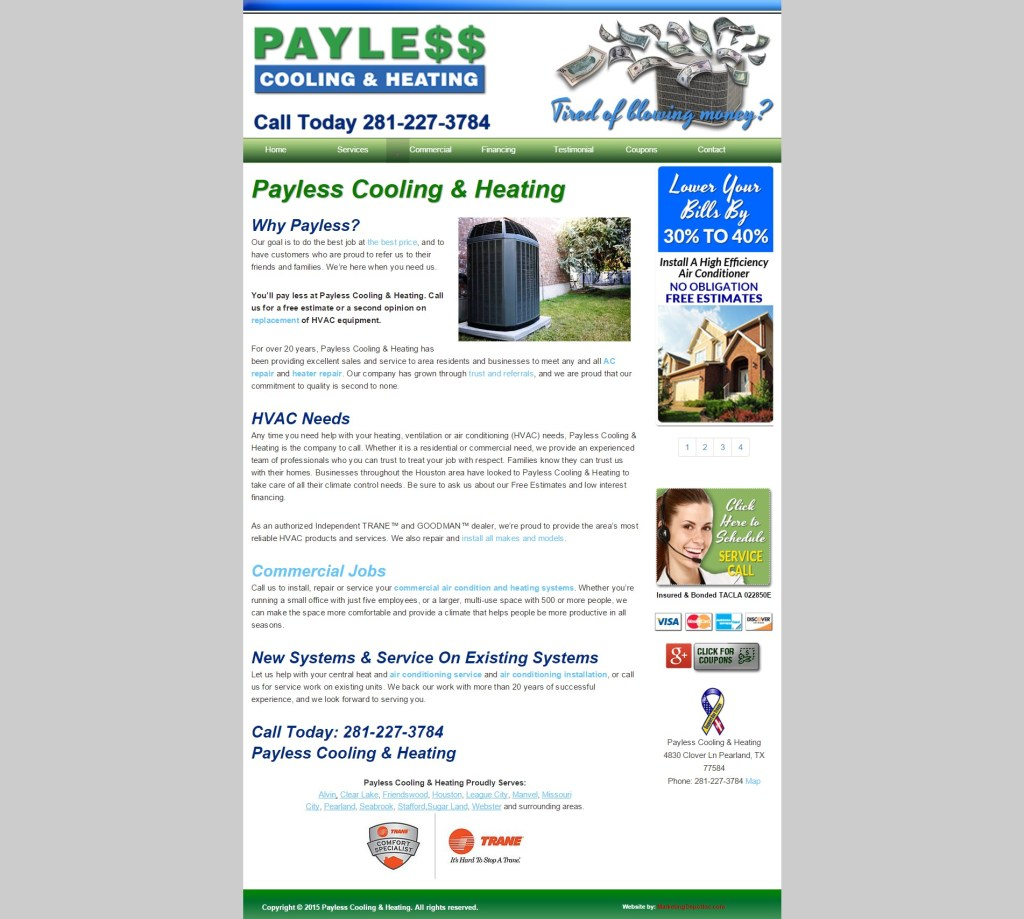 Payless Cooling & Heating