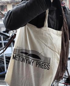 metonymy press tote bag