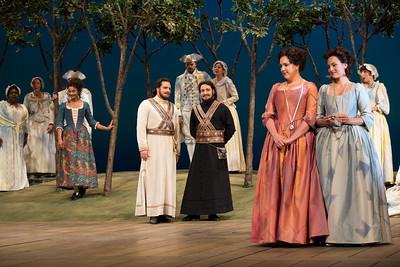 "A scene from Mozart's ""Così fan tutte.""  Photo: Marty Sohl/Metropolitan Opera  Taken on September 17, 2013 at the Metropolitan Opera in New York City."