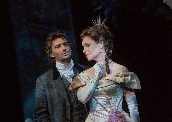 "Jonas Kaufmann as the title character and Sophie Koch as Charlotte in Massenet's ""Werther.""  Photo: Ken Howard/Metropolitan Opera"