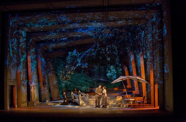 """A scene from Massenet's """"Werther.""""  Photo: Ken Howard/Metropolitan Opera"""