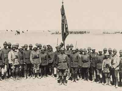 الاحتلال الإنكليزي والمدفعية العثمانية