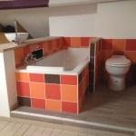 Salle de bain ouverte dans une chambre parentale 1