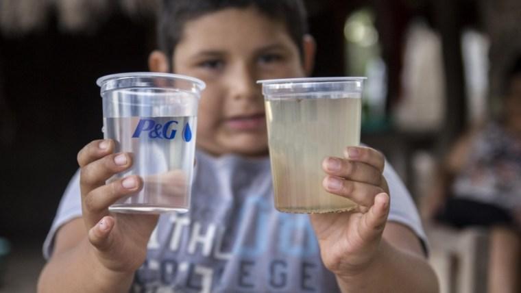 Caso P&G: Agua limpia para los niños