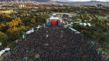 Rock al parque, un ejemplo de festival en la capital colombiana