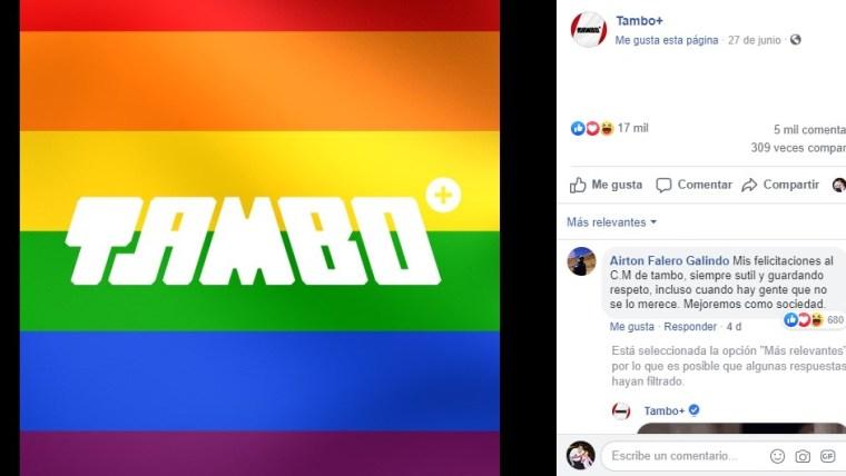 Tambo orgullo