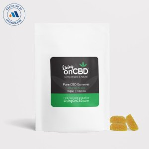 Living On CBD Cherry Bomb CBD Gummies