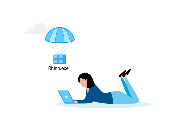 Install Rhino.exe
