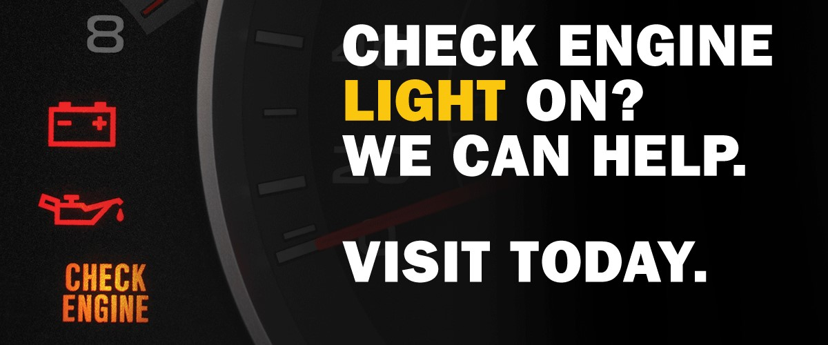Check Engine Light On? We Can Help!