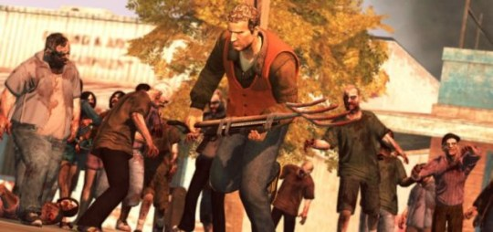 Dead Rising 2: Case Zero (360) – Chuck weeds out some zombies
