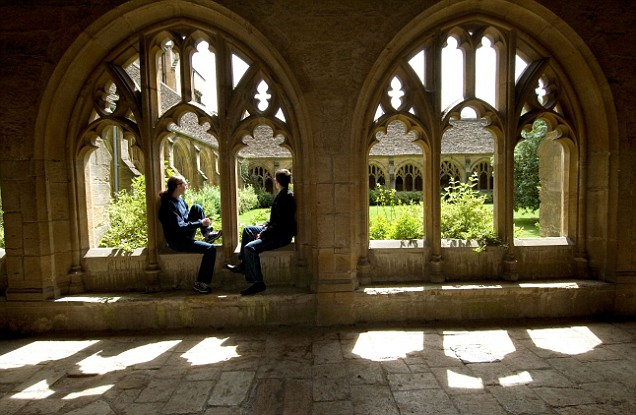 Oxford University students
