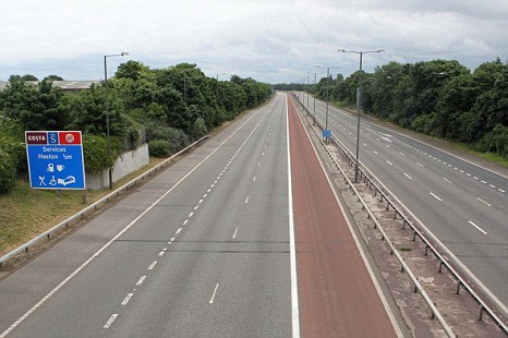 The M4 has remained closed once again as repair work continues ahead of Olympics arrivals