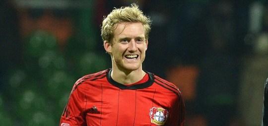 Leverkusen's Andre Schuerrle