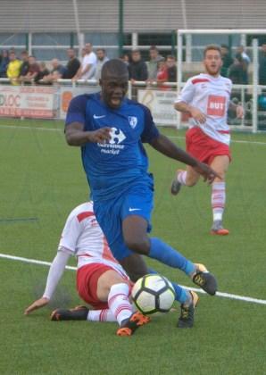 FC Salaise - réserve GF38 Régional 1 25 août 2018 Alain Thiriet (66)