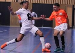 Pays Voironnais - Montpellier Méditerrannée Futsal (74)