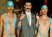 'Unfunny' Borat takes a beating
