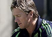 Aussies sweat on McGrath fitness